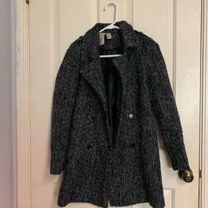 Dark gray coat